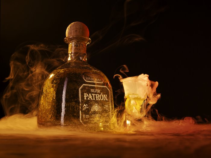 Silver Patron Tequila