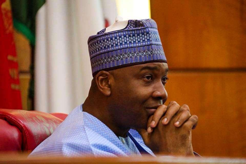 Nigeria Decides 2019 Bukola Saraki Kicked Out Of Senate