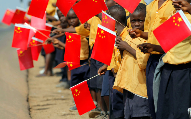 china our gift to the people of africa