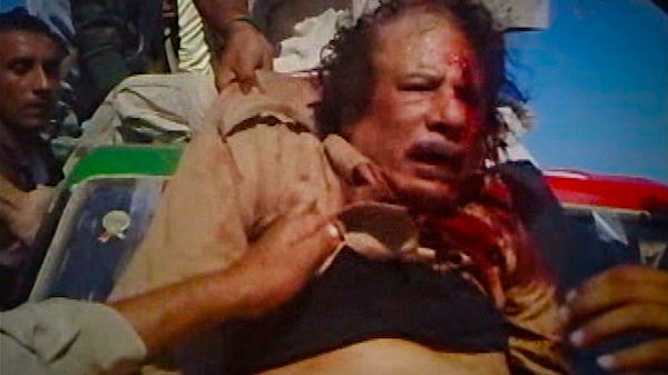 why and how muammar gaddafi was brutally killed murdered assasinated