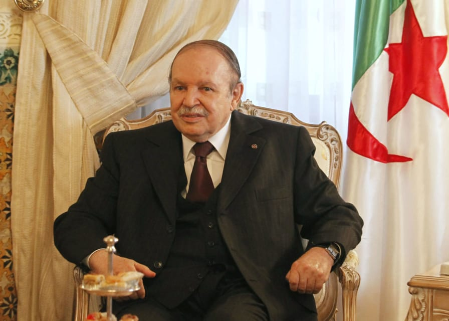 Algerian president withdraws bid for re-election