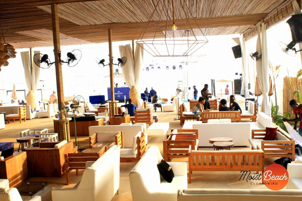 moist beach club oniru royal estate lagos city nigeria ibiza miami