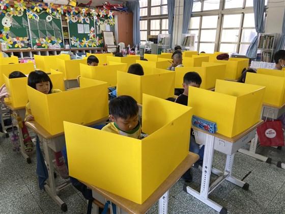 Taiwanese children in school